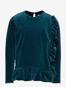 Top No. 428 - langermede t-skjorter - dark green