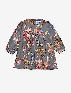 Dress No. 824 - GREY FLOWERS