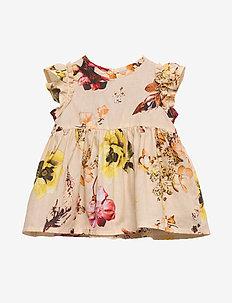 Dress No. 841 - LIGHT YELLOW FLOWERS