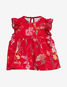 Dress No. 841 - RED FLOWERS