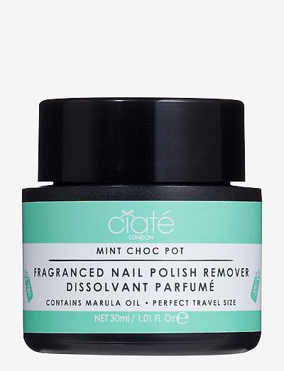 Ciaté Choc Pot conditioning nail polish remover - MINT CHOCOLATE