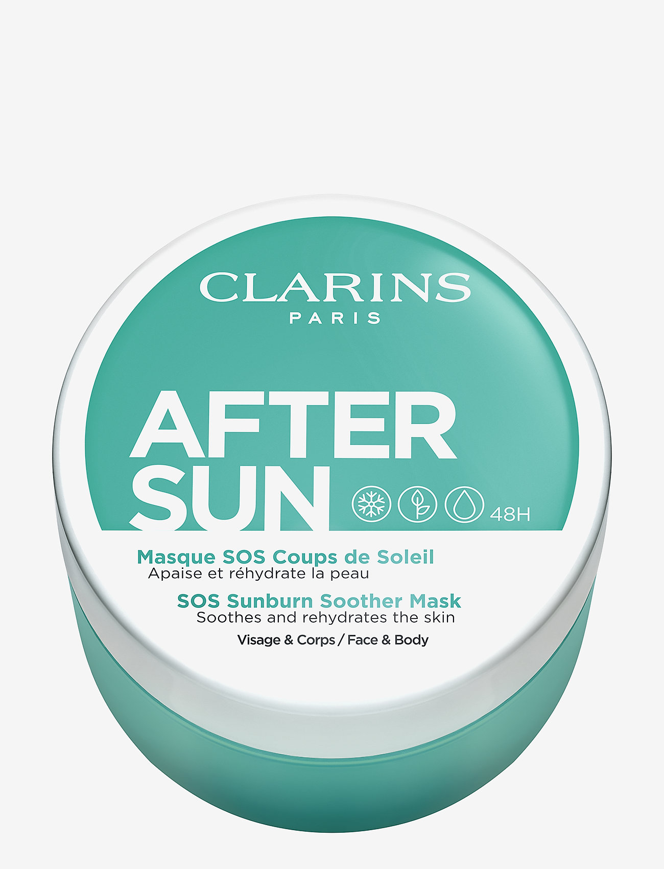 Clarins - AFTER SUN FACE & BODY MASK - aftersun - no color - 0