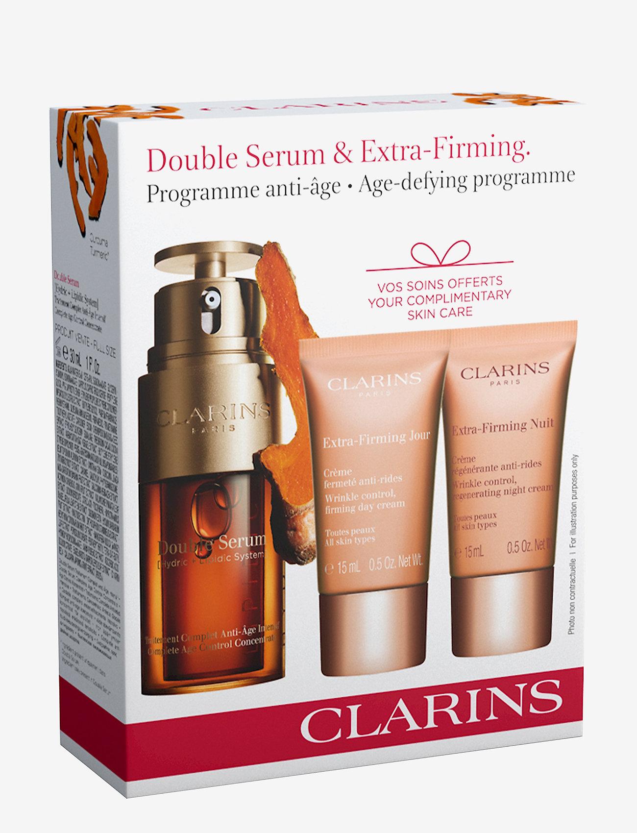 Clarins - DOUBLE SERUM 30ML DOUBLE SERUM/15ML XFIRM DAY/15ML XFIRM NIG - ihonhoitosetit - no color - 1