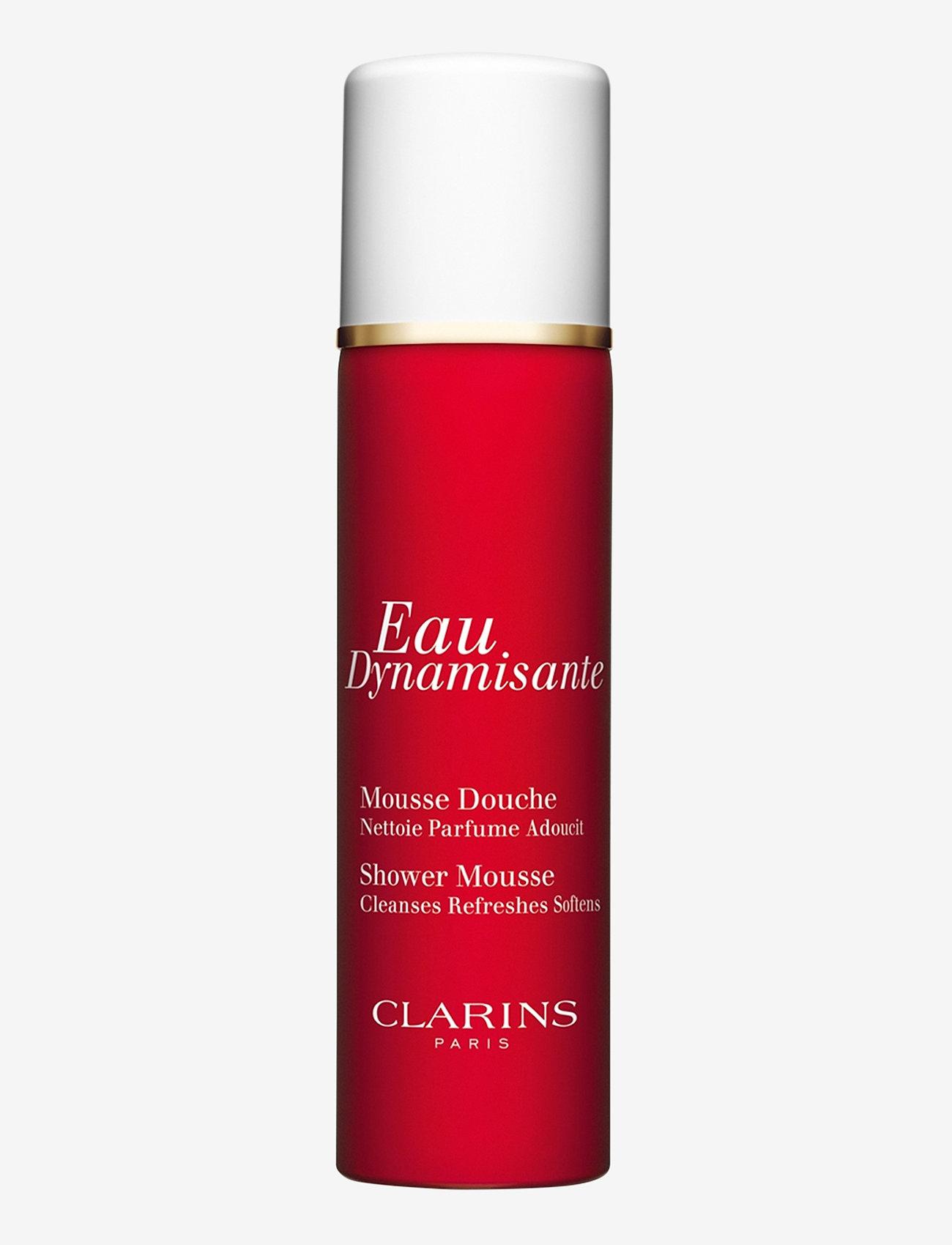 Clarins - Eau Dynamisante Shower Mousse - suihkugeeli - clear - 0