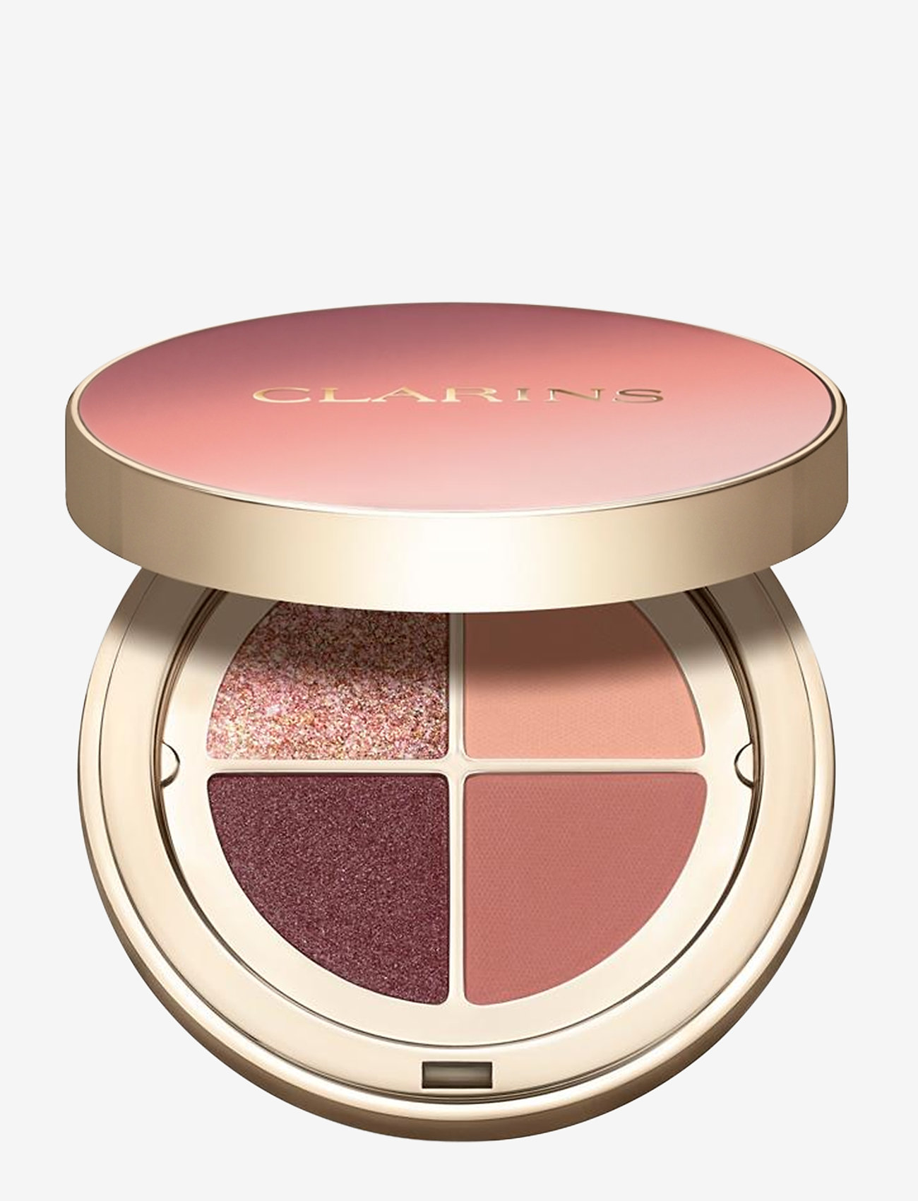 Clarins - Ombre 4 Couleurs 01 Fairy Tale Nude Gradation - Ögonskuggspalett - 01 fairy tale nude gradation - 0