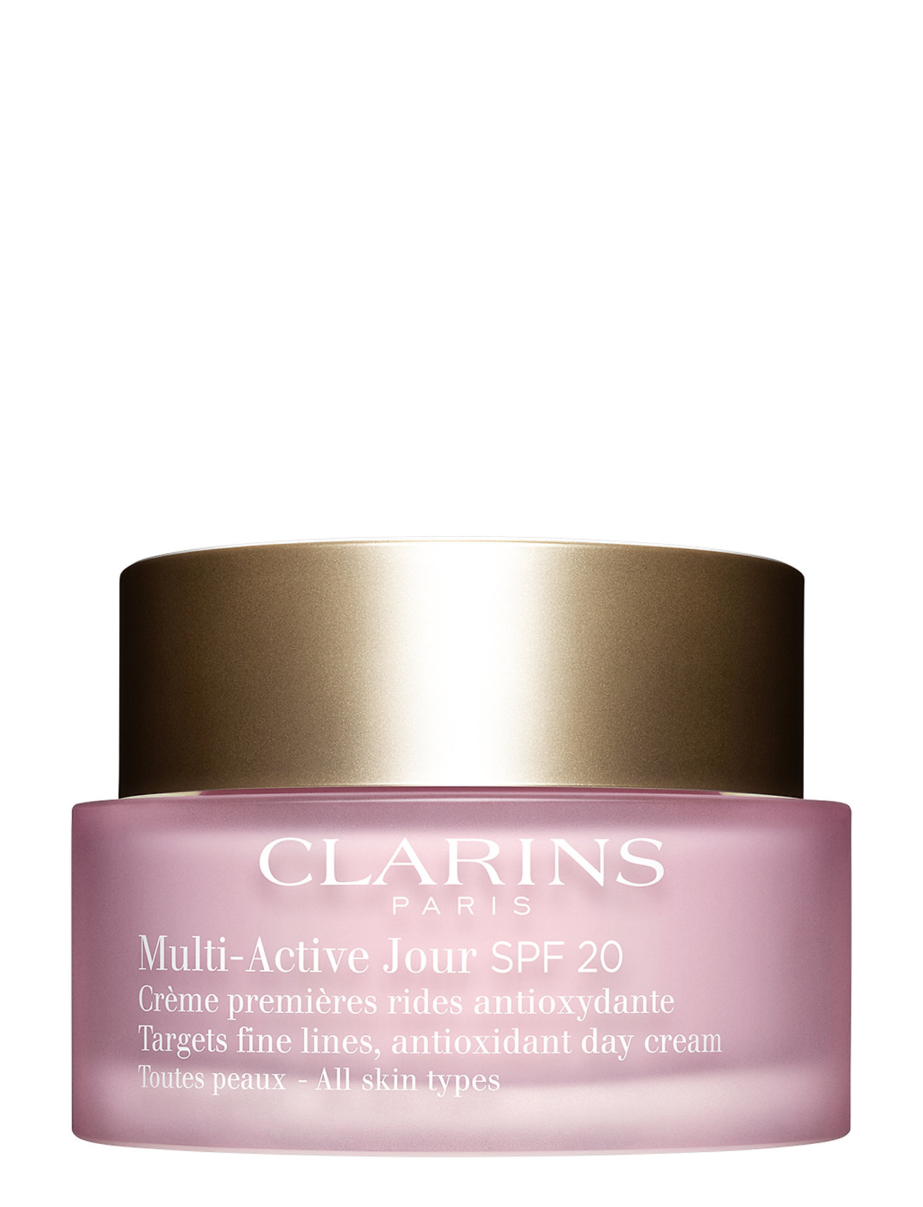 Image of Multi-Active Day Cream Spf20 Skin Beauty WOMEN Skin Care Face Day Creams Nude Clarins (3099178189)