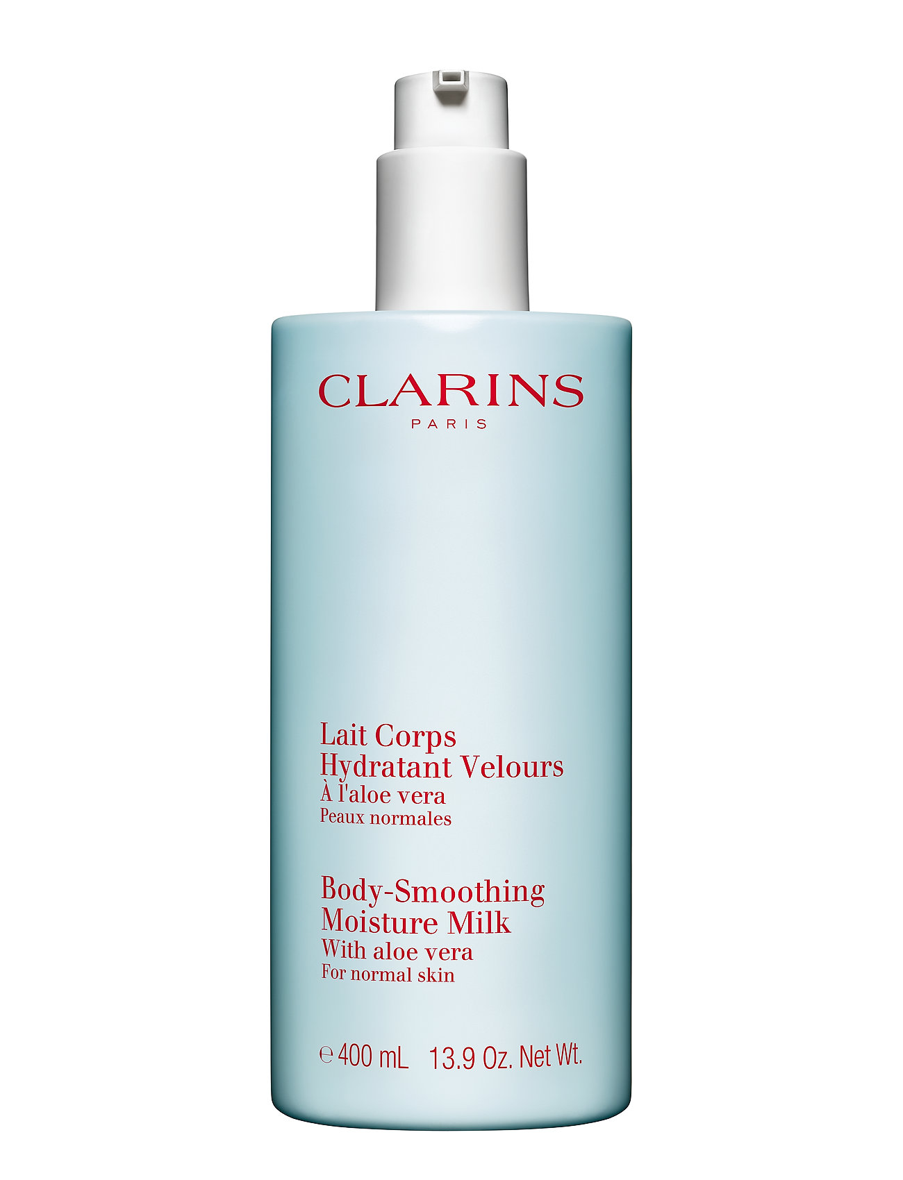 Clarins HYDRATING BODY-SMOOTHING MOISTURE MILK - CLEAR