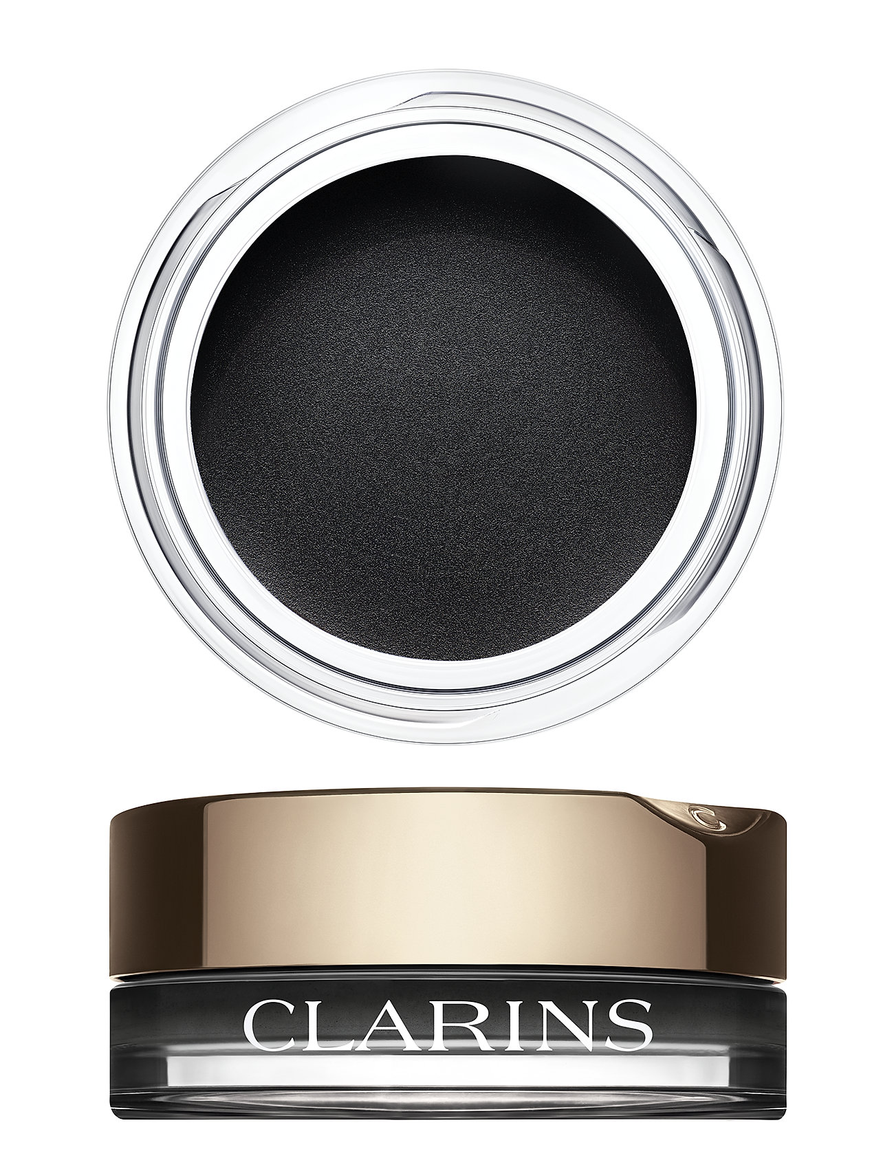 Image of Mono Colour Eyeshadow 06 Women In Black Mat Beauty WOMEN Makeup Eyes Eyeshadows Eyeshadow - Not Palettes Sort Clarins (3133211685)