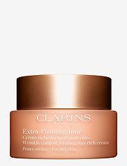 Clarins - EXTRA-FIRMING DAY CREAM DRYSKIN - päivävoiteet - no color - 0