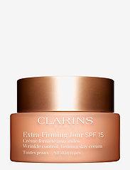 Clarins - EXTRA-FIRMING SPF15 DAY CREAM - päivävoiteet - no color - 0