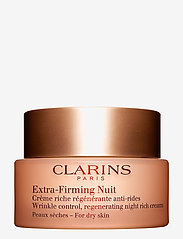 Clarins - EXTRA-FIRMING NIGHT CREAM DRY SKIN - yövoide - no color - 0