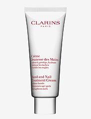Clarins - Hand & Nail Treatment Cream - handkräm & fotkräm - no color - 0