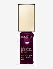 Clarins - INSTANT COMFORT LIP OIL 08BLACK BERRY - läppglans - 08 black berry - 0