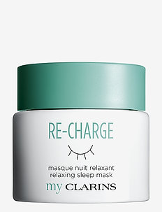 My Clarins Re-Charge Relaxing Sleep Mask - nattkräm - no color