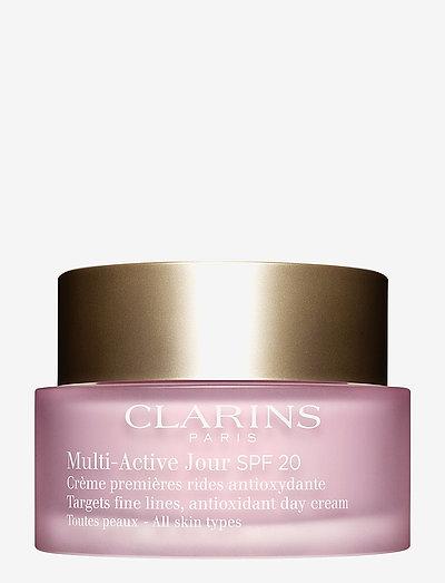 Multi-Active Jour Spf 20 All skin types - dagkräm - no color