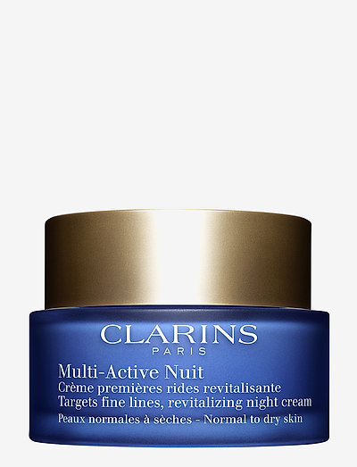 MULTI-ACTIVE NIGHT CREAM DRY SKIN - päivävoiteet - no color