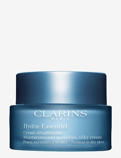 HYDRA-ESSENTIEL ALL SKIN TYPES - päivävoiteet - clear