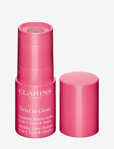 TWIST TO GLOW 01 GLOWY CORAL - highlighter - purple