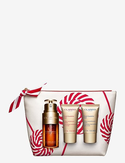 Double Serum & Nutri-Lumiere Holiday Collection - gavesæt - clear
