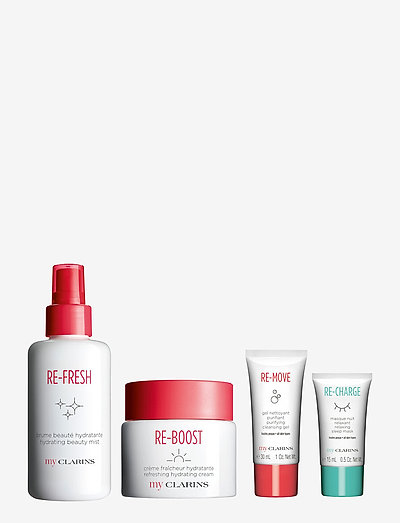 My Clarins Holiday Collection - hudplejesæt - clear
