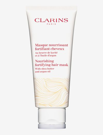 Nourishing Fortifying Hair Mask 200 ml - hårmasker - clear