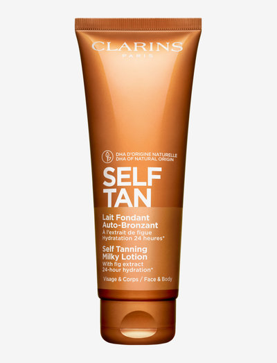 Self Tanning Milky-Lotion - brun utan sol - clear
