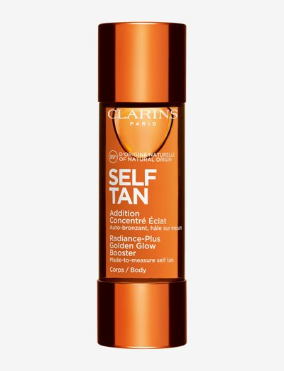 Radiance-Plus Golden Glow Booster Body - brun utan sol - clear