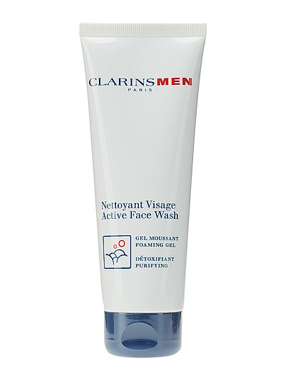 CLARINSMEN WASH ACTIVE FACEWASH GEL - NO COLOR