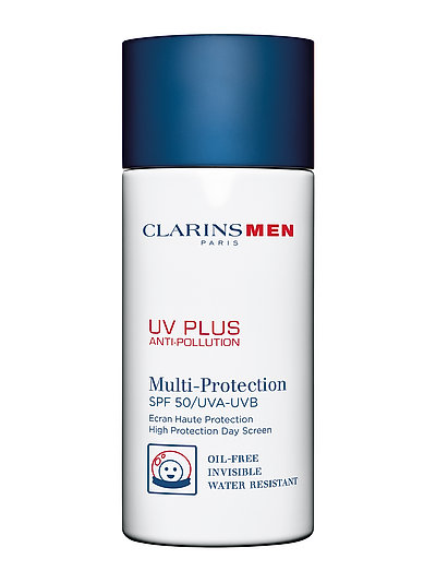 CLARINSMEN UV PLUS ANTI-POLLUTION ALL SKIN TYPES - NO COLOR