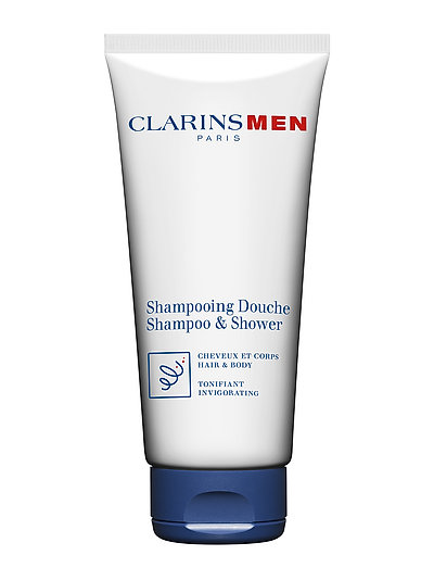 CLARINSMEN BODY HAIR & BODYSHAMPOO - NO COLOR