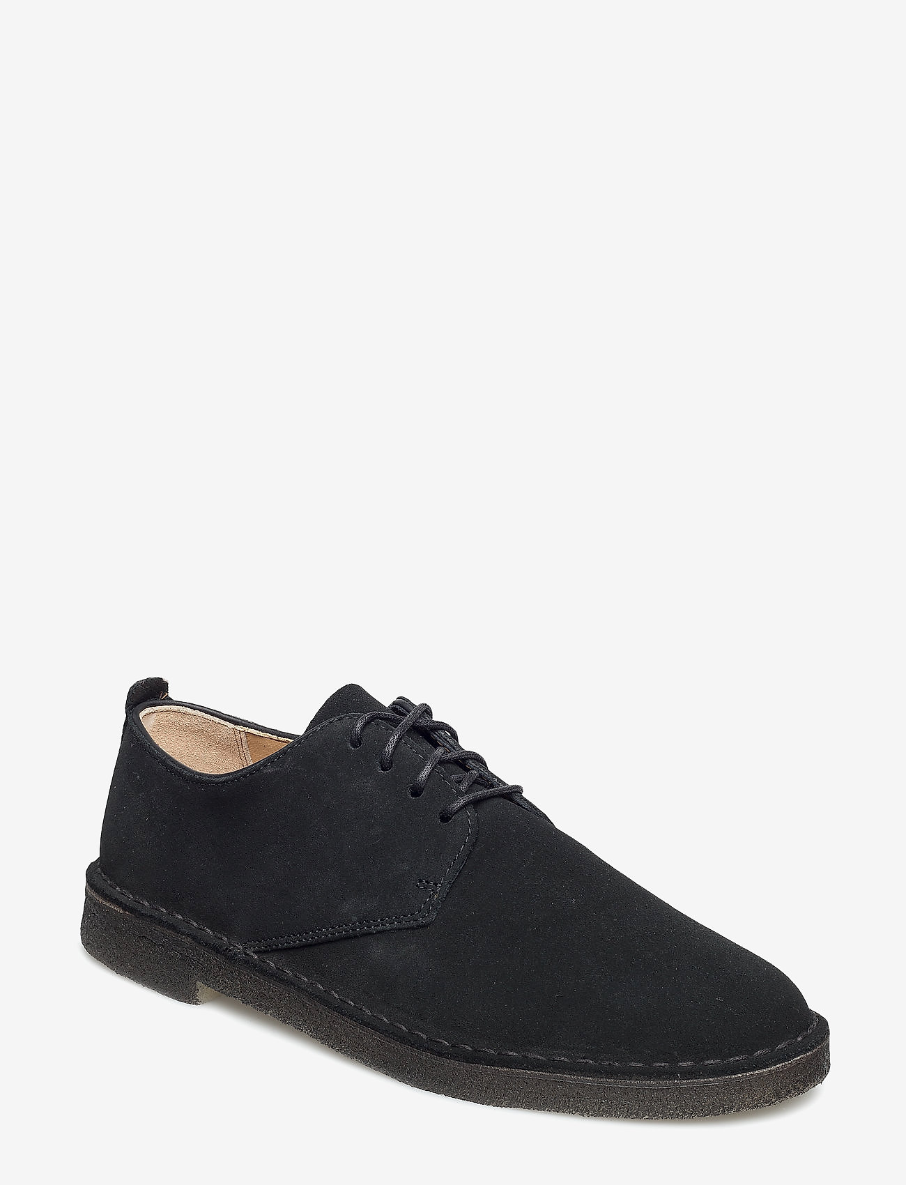 Clarks Originals - Desert London - laced shoes - black sde - 0
