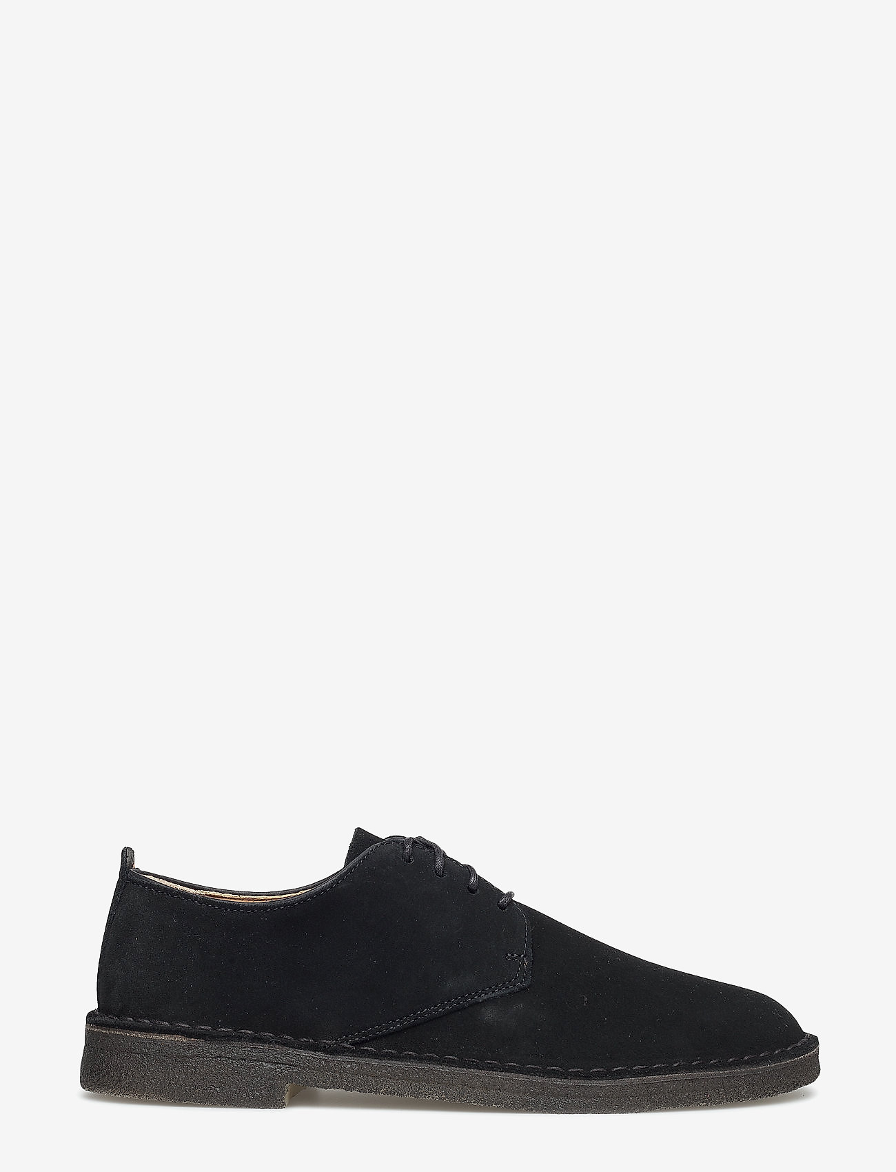 Clarks Originals - Desert London - laced shoes - black sde - 1