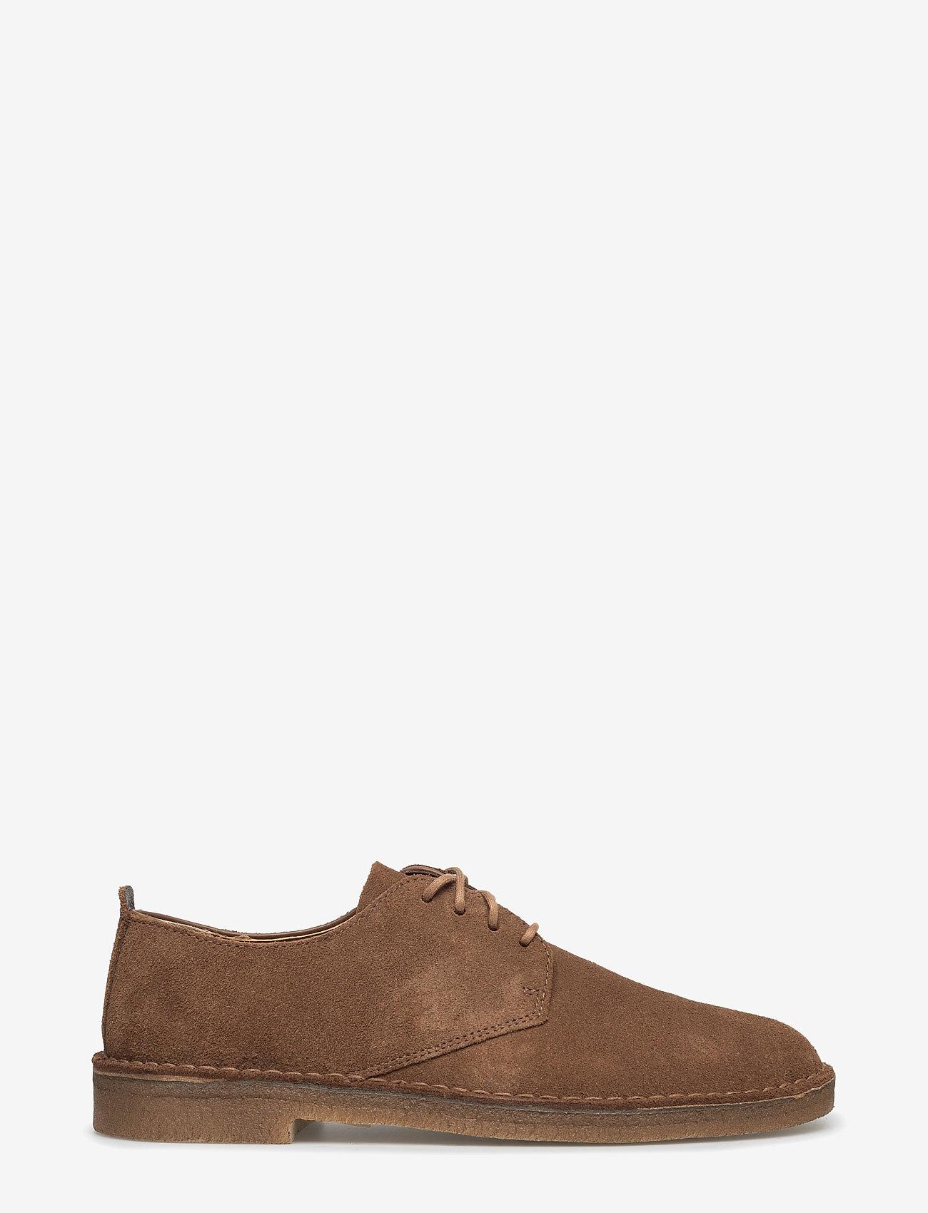 Clarks Originals - Desert London - chaussures lacées - cola suede - 1