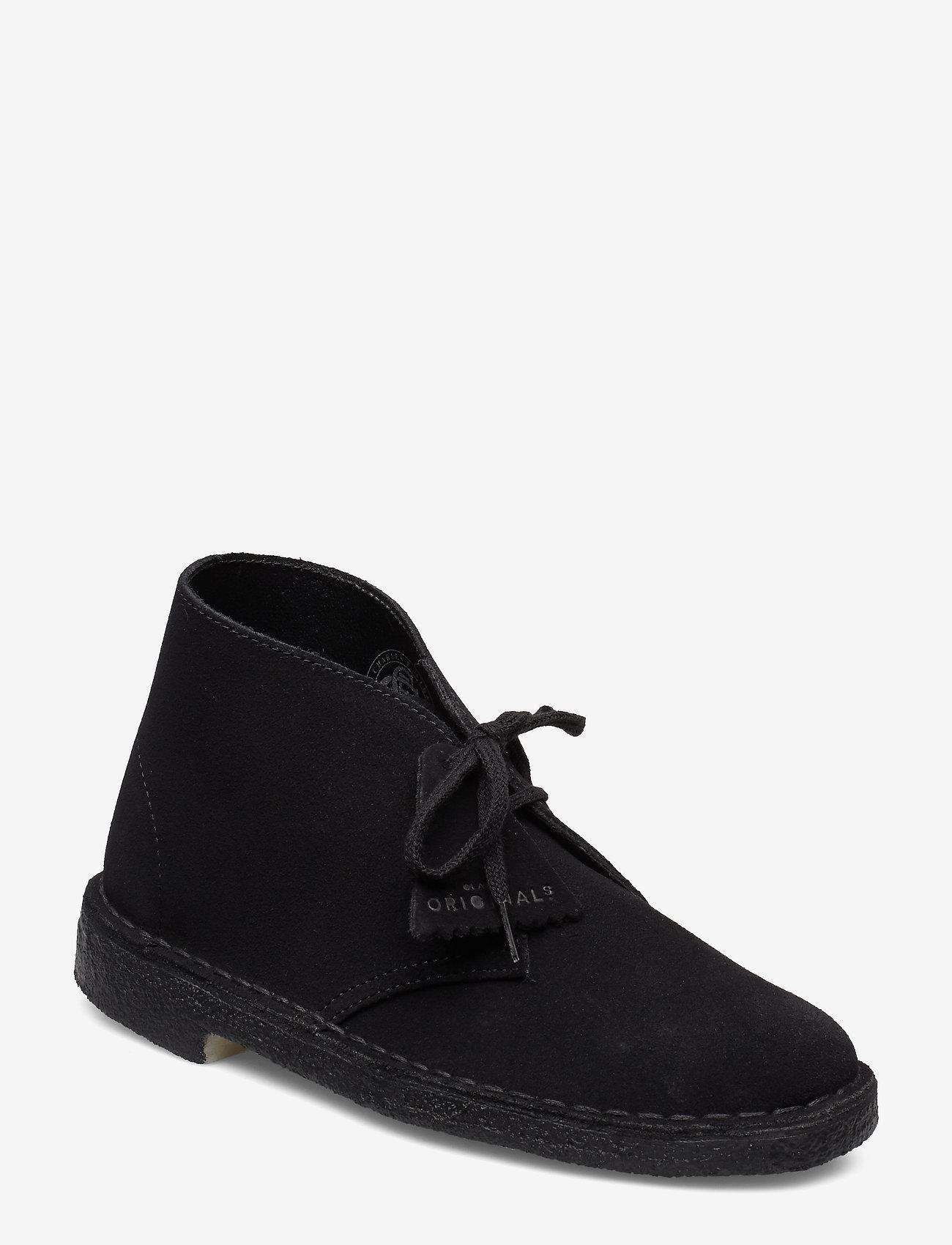 Clarks Originals - Desert Boot - flate ankelstøvletter - black sde - 0