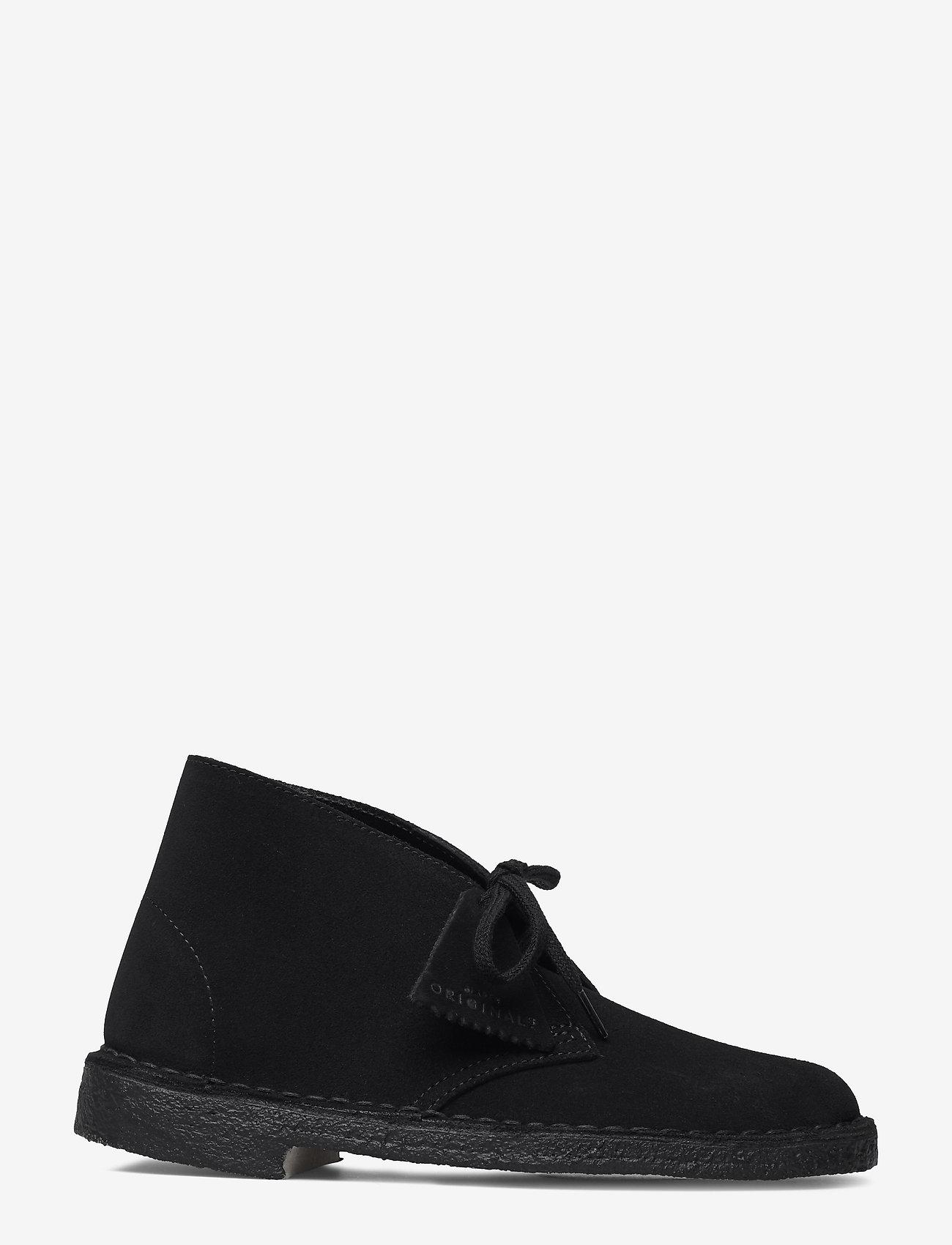 Clarks Originals - Desert Boot - flate ankelstøvletter - black sde - 1