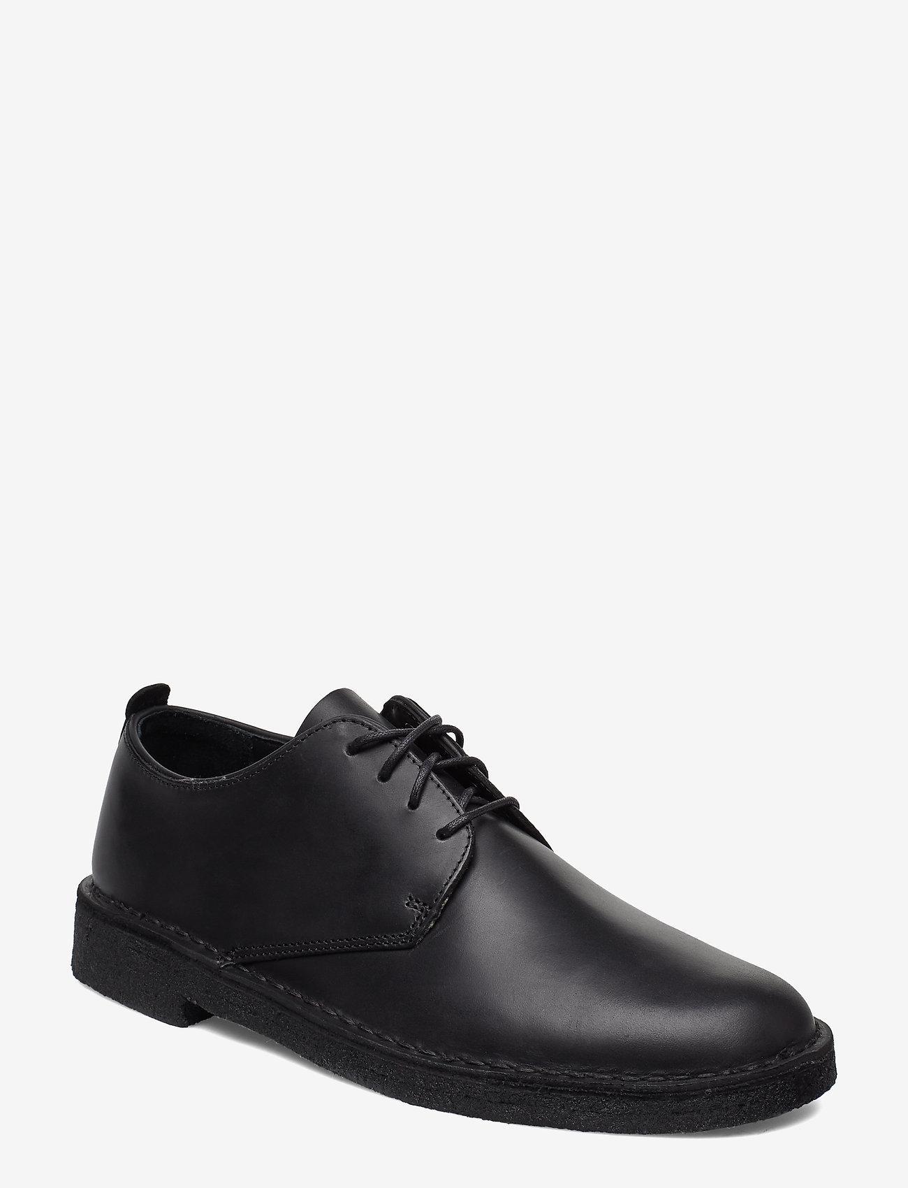 Clarks Originals - Desert London - snörskor - black leather - 0