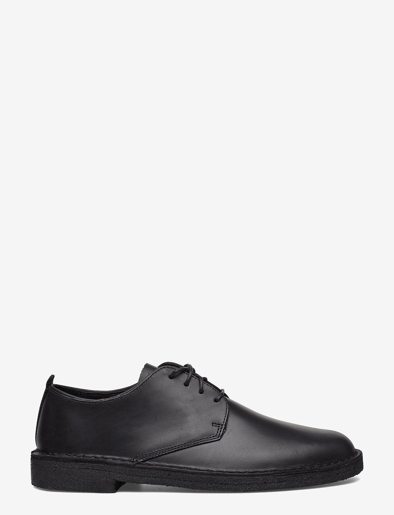 Clarks Originals - Desert London - snörskor - black leather - 1