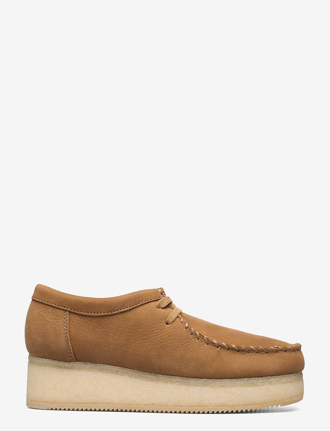 Clarks Originals - Wallacraft Lo - buty sznurowane - oak nubuck - 1