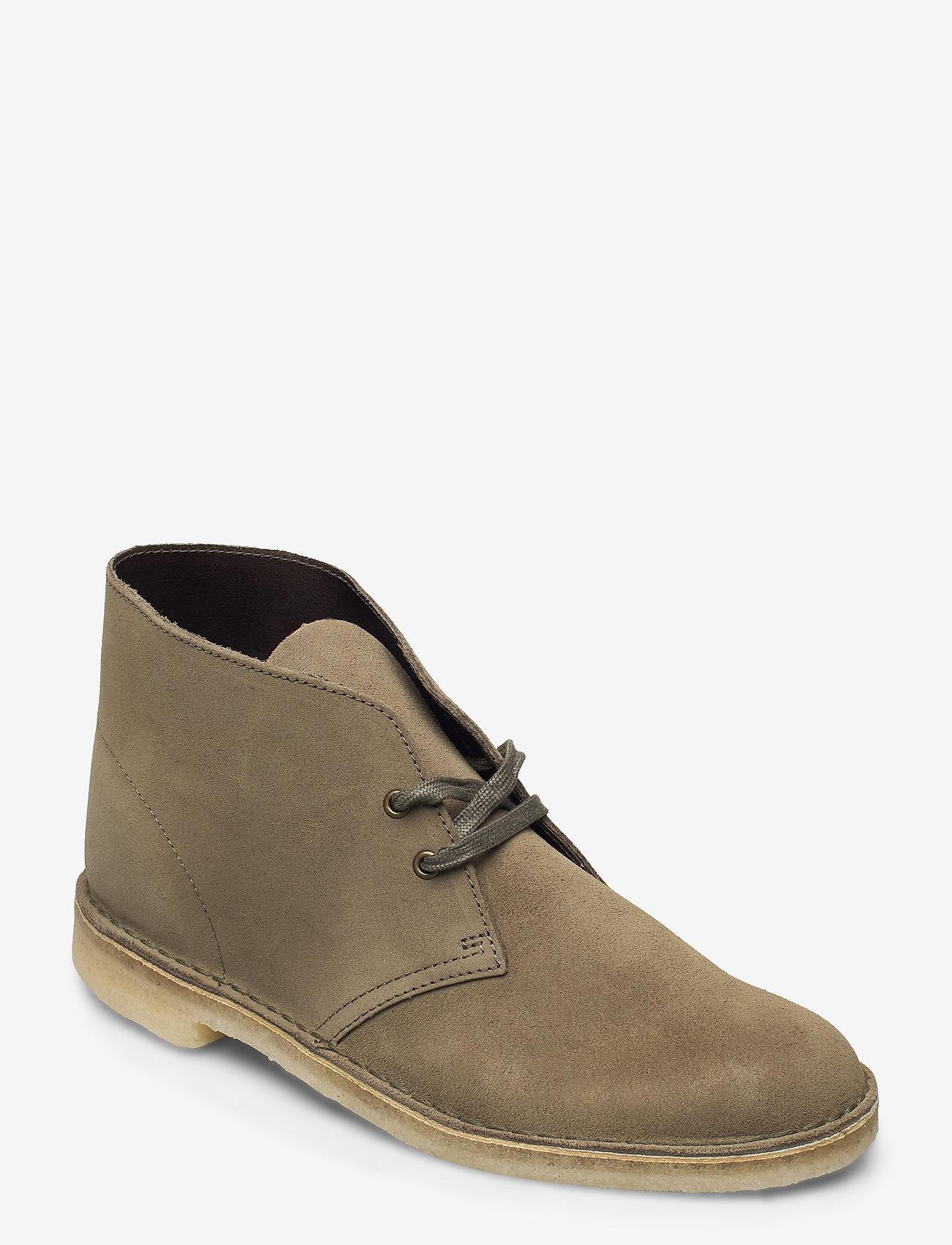 Desert Boot (Light Olive Sde) (112.50