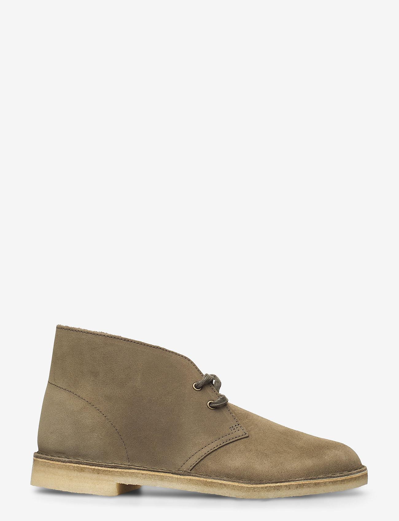 Clarks Originals - Desert Boot - desert boots - light olive sde - 1