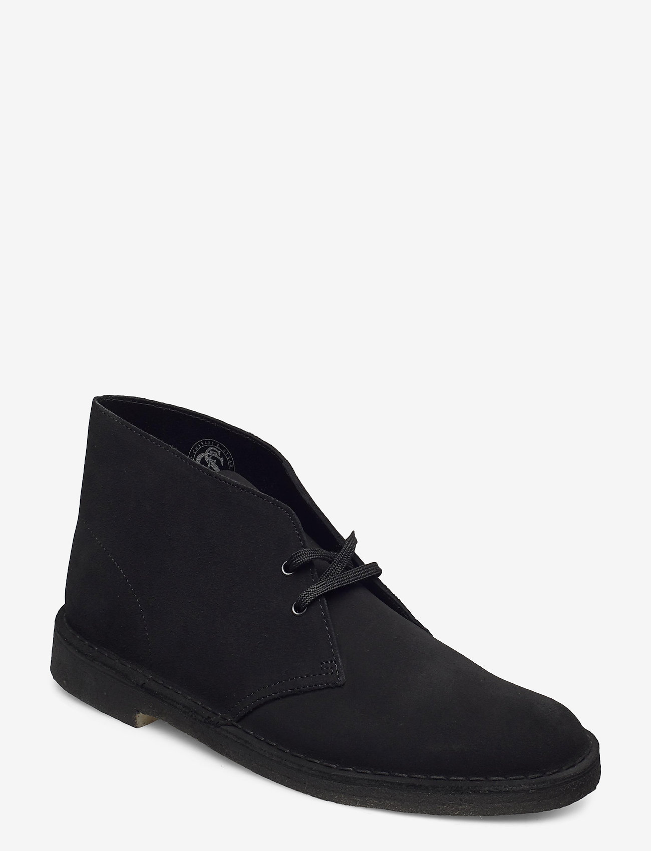 Clarks Originals - Desert Boot - desert boots - black sde - 0