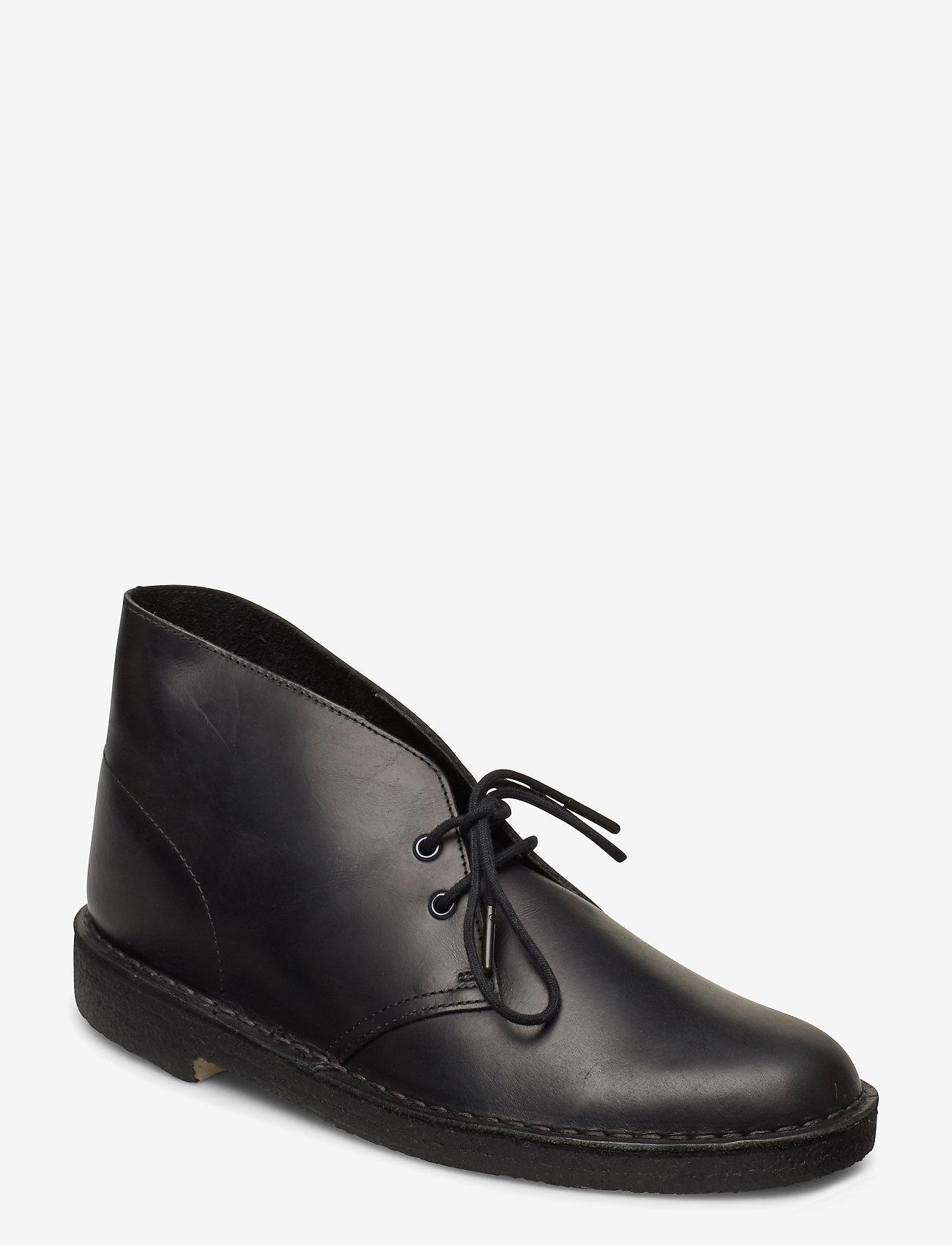 Clarks Originals - Desert Boot - Ökenkängor - black polished - 0