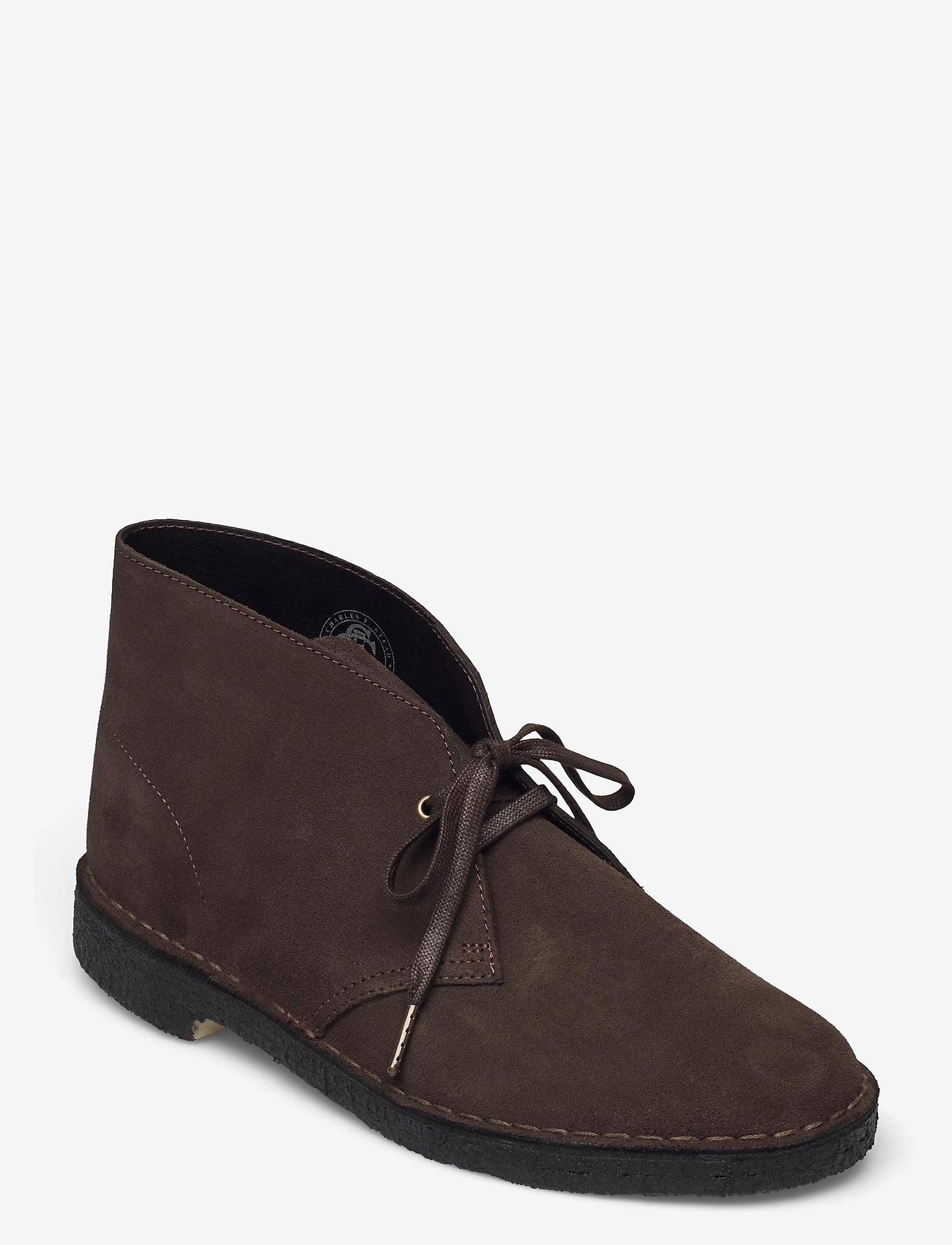 Clarks Originals - Desert Boot - Ökenkängor - brown sde - 0