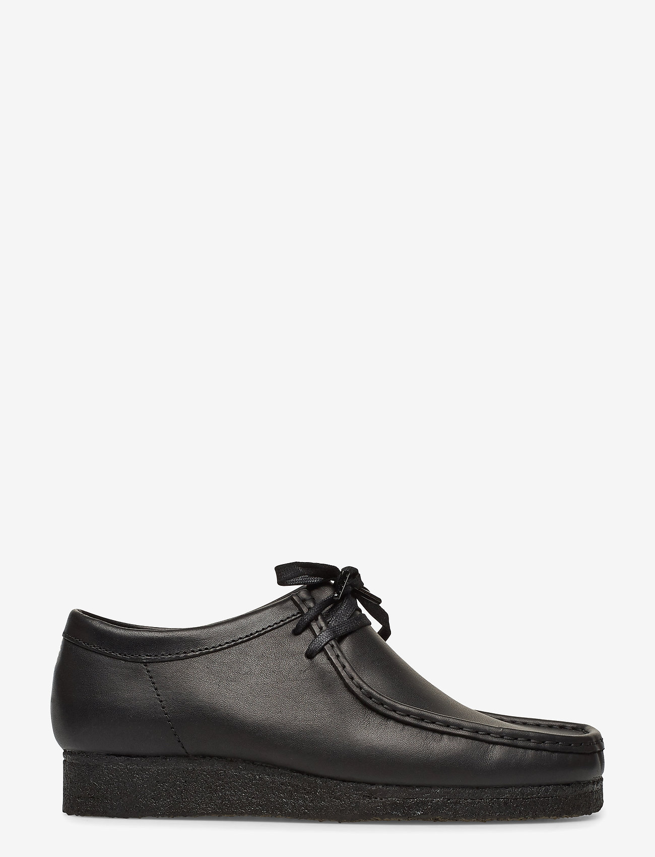 Clarks Originals - Wallabee - snörskor - black leather - 1