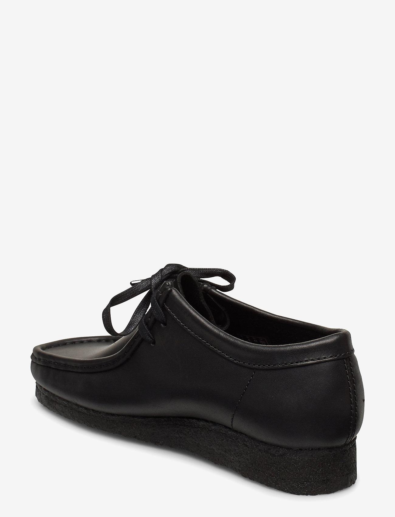 Clarks Originals - Wallabee - snörskor - black leather - 2