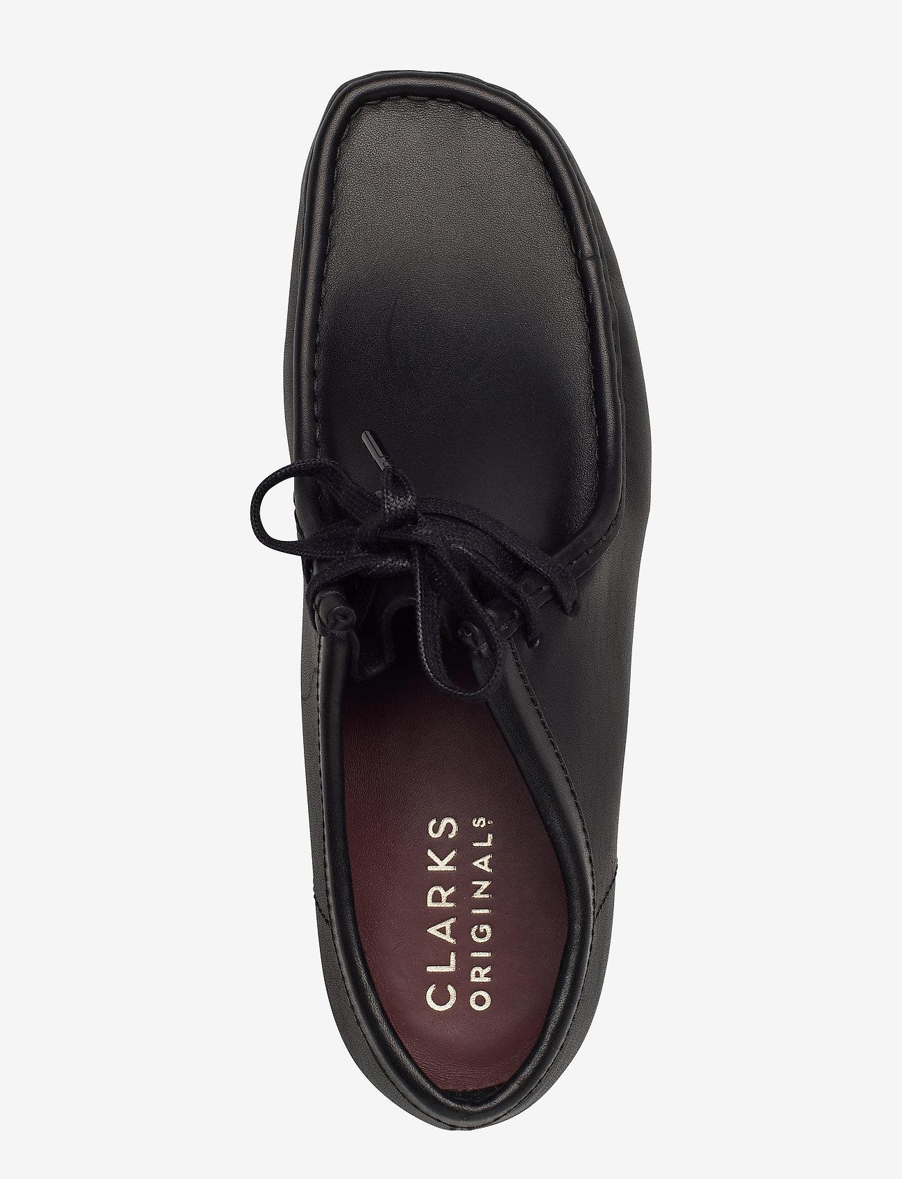 Clarks Originals - Wallabee - snörskor - black leather - 3