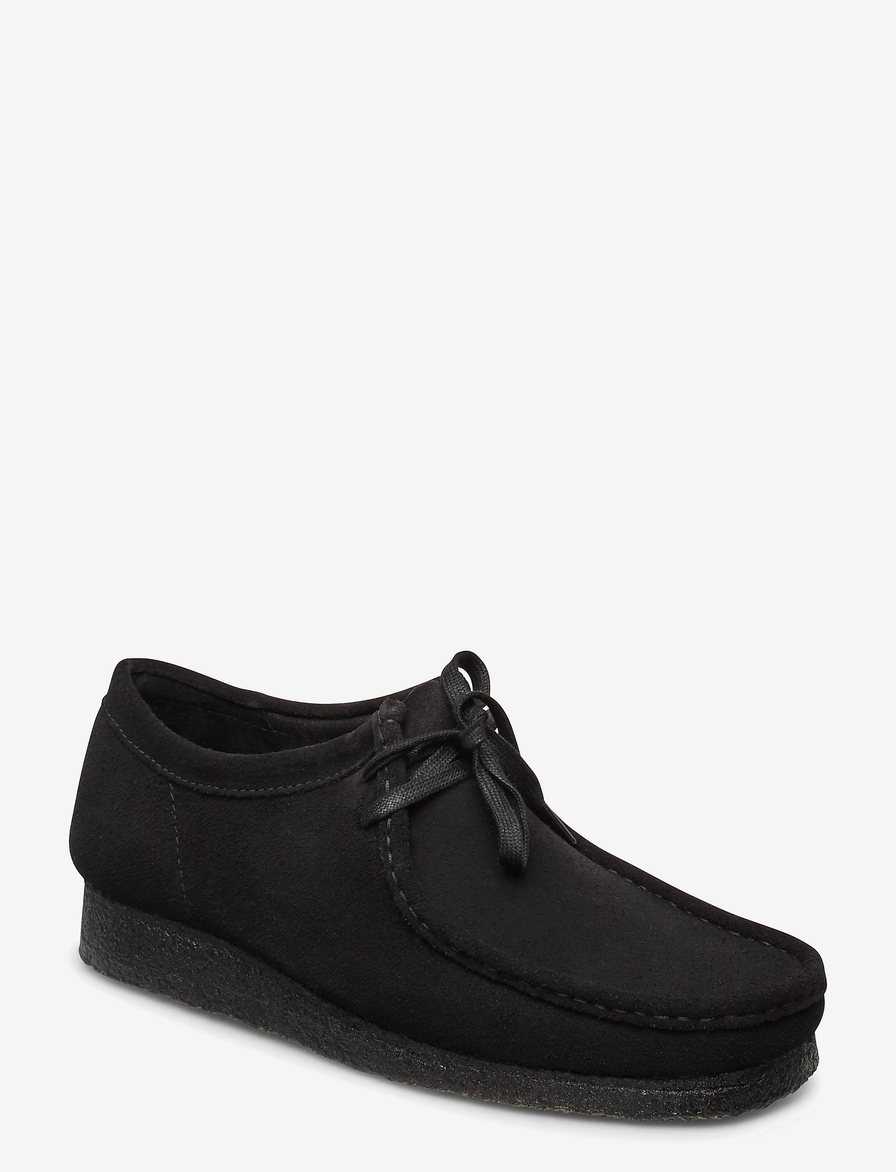 Clarks Originals - Wallabee - snörskor - black sde - 0