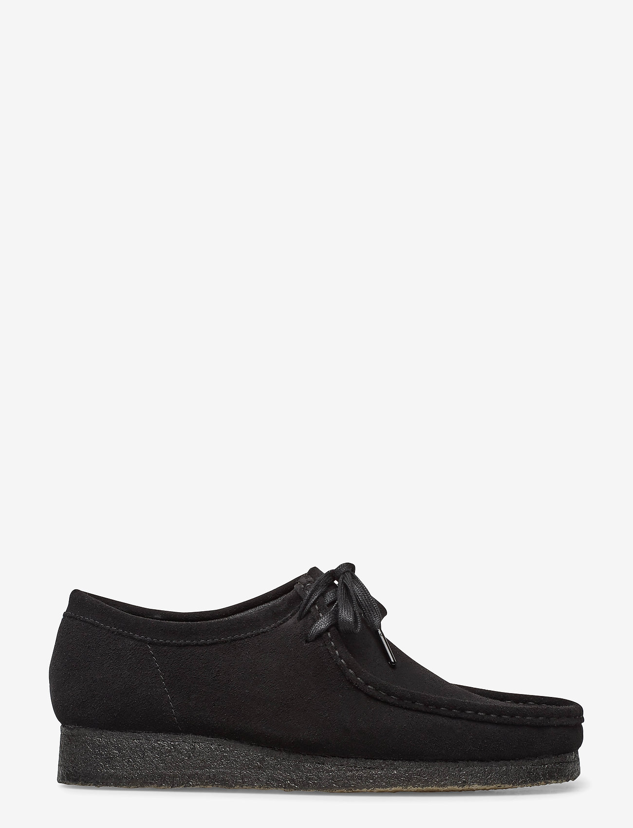 Clarks Originals - Wallabee - snörskor - black sde - 1