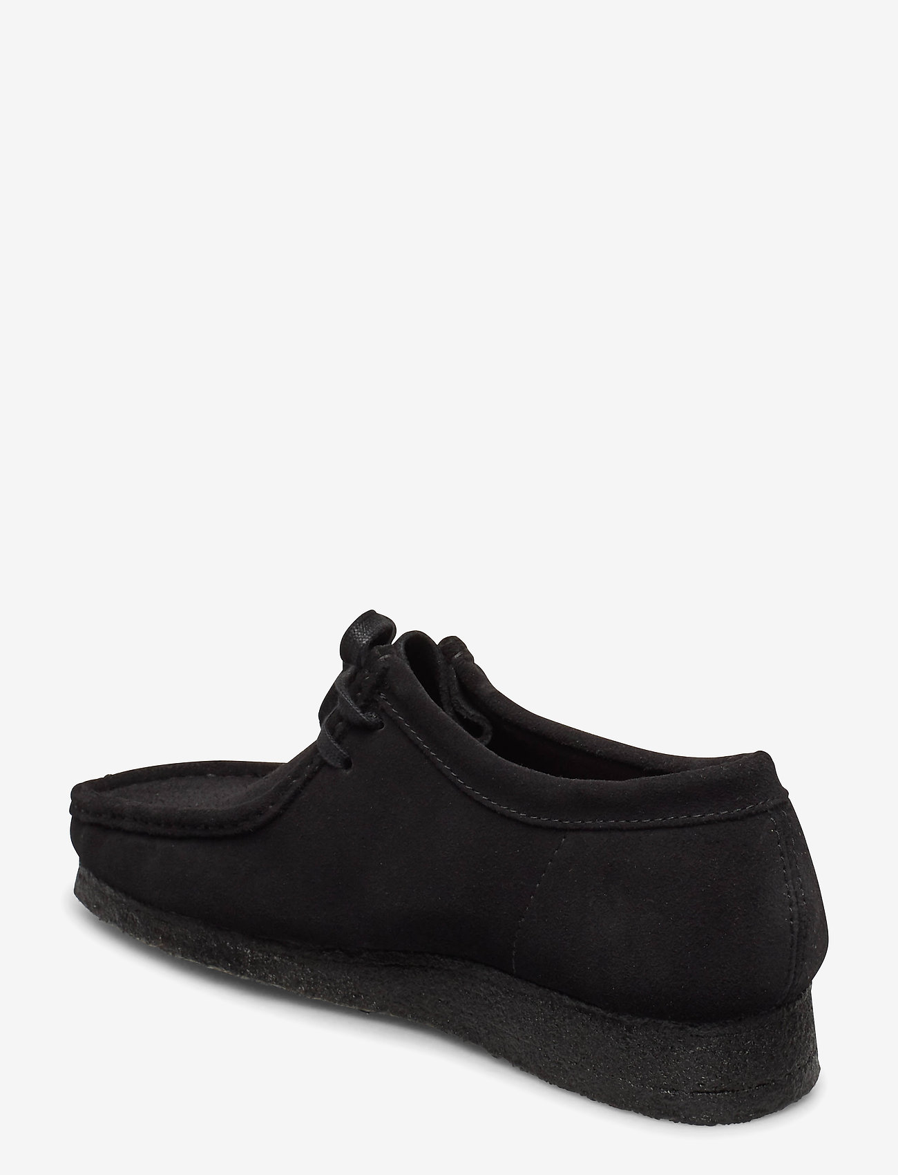 Clarks Originals - Wallabee - snörskor - black sde - 2