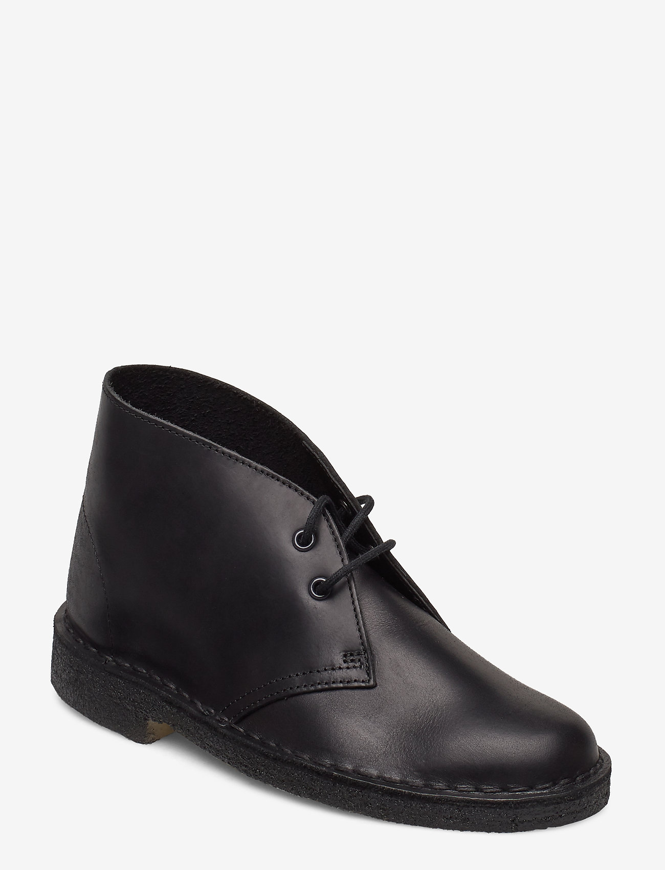 Clarks Originals - Desert Boot. - platta ankelboots - black polished - 0